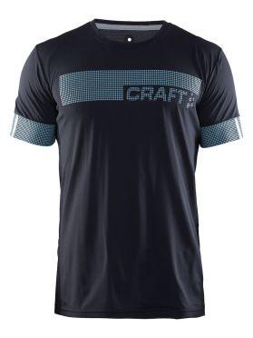 Craft Breakaway N2 short sleeve running shirt gravel men