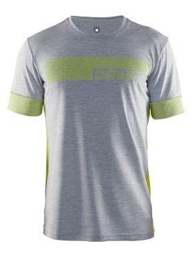 Craft Breakaway N2 short sleeve running shirt gray men