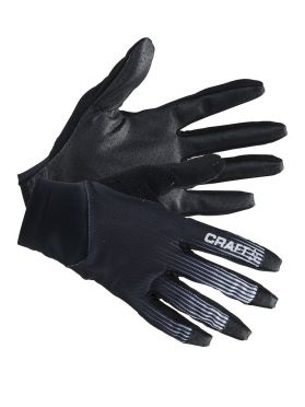 Craft Route bike gloves black/white unisex