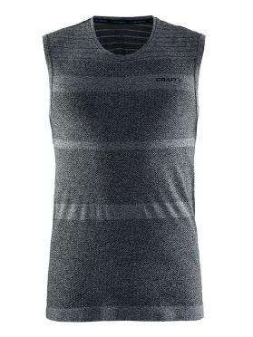 Craft cool comfort sheeveless baselayer black/melange men