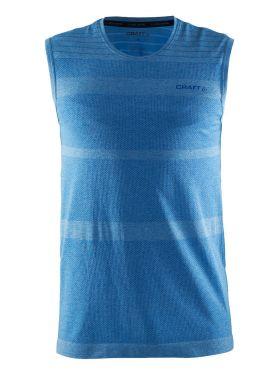 Craft cool comfort sheeveless baselayer blue men
