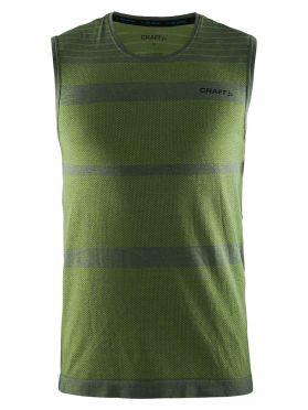 Craft cool comfort sheeveless baselayer green men