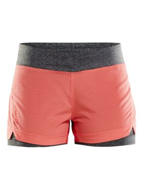 Craft Breakaway 2-in-1 running shorts Pink women