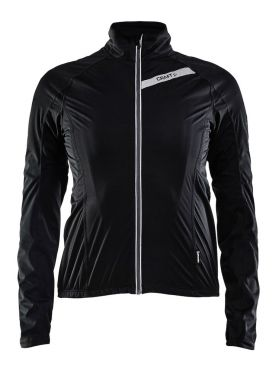 Craft belle rain jacket black women