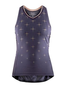 Craft Belle glow sleeveless cycling jersey purple women