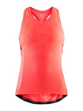 Craft Belle glow sleeveless cycling jersey pink women