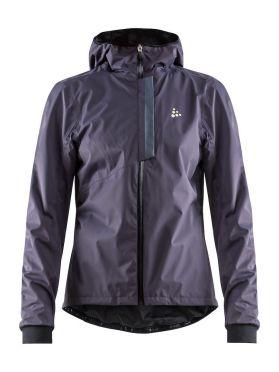 Craft ride rain jacket purple women