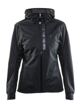 Craft ride rain jacket black women