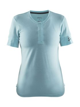 Craft ride cycle jersey blue women