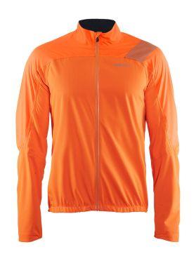 Craft Verve rain jacket orange men