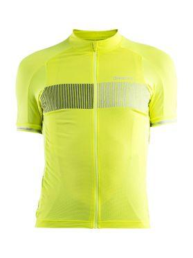 Craft Verve Glow cycling jersey yellow men