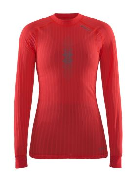Craft active extreme 2.0 brilliant CN long sleeve red women