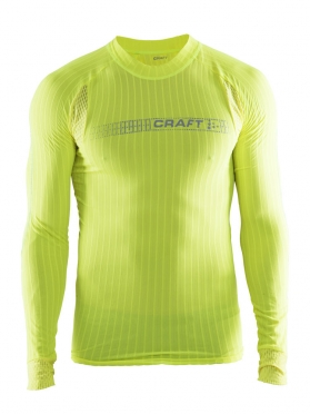 Craft Active Extreme 2.0 Brilliant RN longsleeve baselayer yellow men