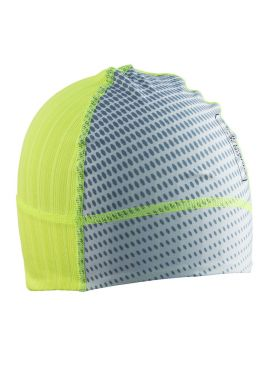 Craft Active Extreme 2.0 brilliant winstopper hat flumino/silver