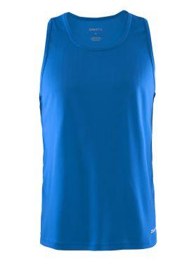 Craft Mind sleeveless running shirt blue men