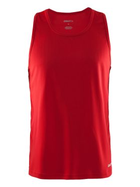 Craft Mind sleeveless running shirt red men