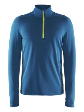 Craft Sweep halfzip ski mid layer blue/teal men