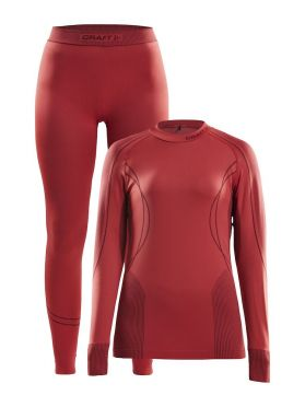 Craft Seamless Zone 2-Pack baselayer set red women