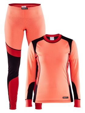 Craft Active 2-Pack baselayer set orange women