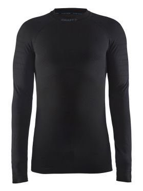 Craft Active intensity crewneck long sleeve baselayer black men