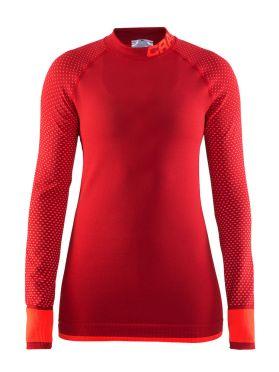 Craft warm intensity 2.0 CN long sleeve baselayer red women