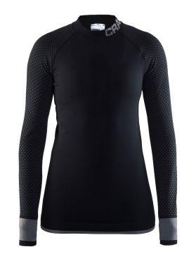 Craft warm intensity 2.0 CN long sleeve baselayer black/granite women