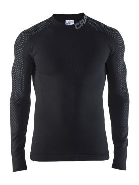 Craft warm intensity 2.0 CN long sleeve baselayer black/granite men