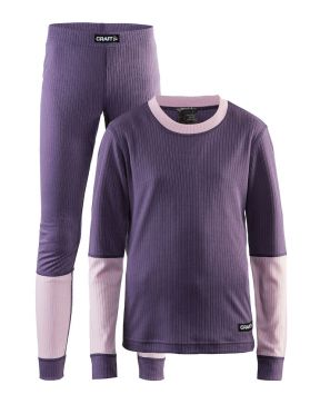 Craft Active 2-Pack baselayer set purple junior