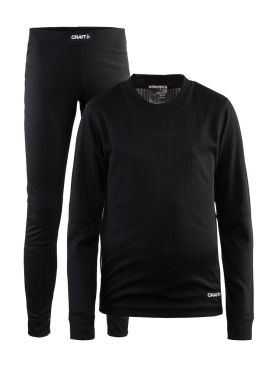 Craft Active 2-Pack baselayer set black junior