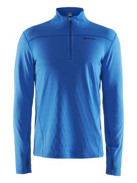 Craft Pin halfzip ski mid layer blue/ray men