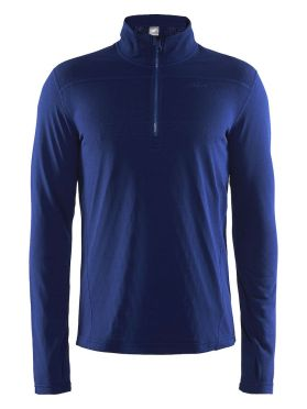 Craft Pin halfzip ski mid layer blue/soul men