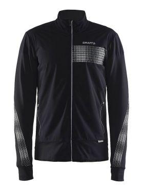 Craft Brilliant 2.0 warm running jacket black men