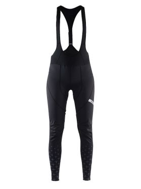 Craft belle glow bib tights black women