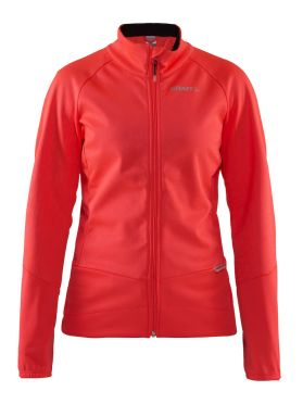 Craft rime jacket red women