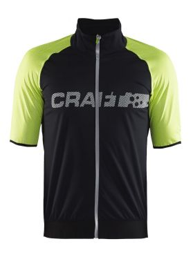 Craft Shield 2.0 cycling jersey black/flumino men