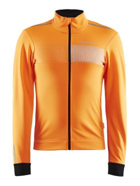 Craft Verve cycling glow jacket orange men