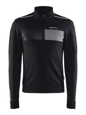 Craft Verve cycling glow jacket black men