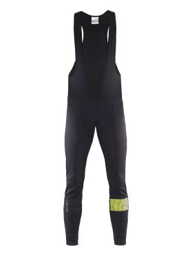 Craft Verve glow bib tights black/flumino men
