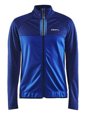Craft Rime cycling jacket blue men