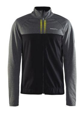 Craft Rime cycling jacket gray men