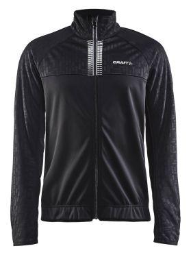 Craft Rime cycling jacket black men
