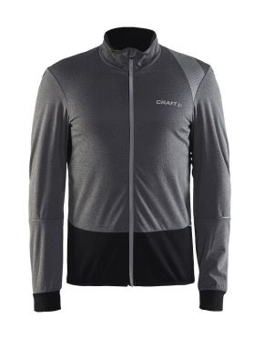 Craft Verve wind cycling jersey long sleeve gray men