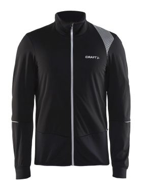 Craft Verve wind cycling jersey long sleeve black men