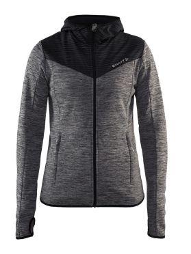Craft Breakaway jersey running jacket gray women