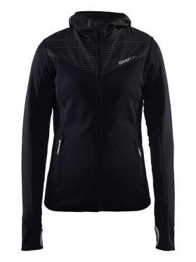 Craft Breakaway jersey running jacket black women
