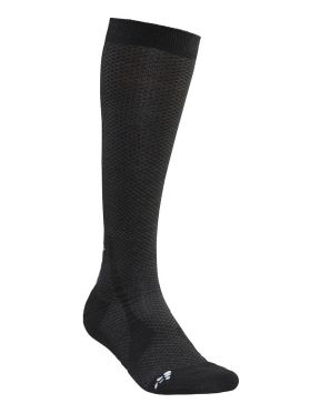 Craft warm high socks black