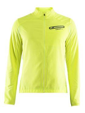 Craft Breakaway running jacket yellow men