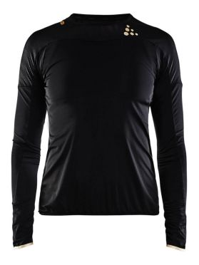Craft Shade long sleeve running shirt black women