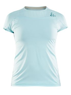 Craft Shade short sleeve running shirt blue women