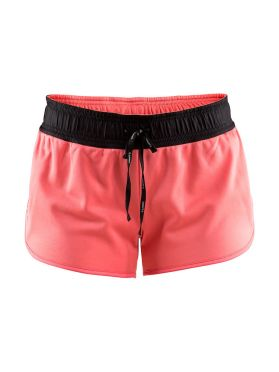 Craft Eaze jersey running shorts pink women